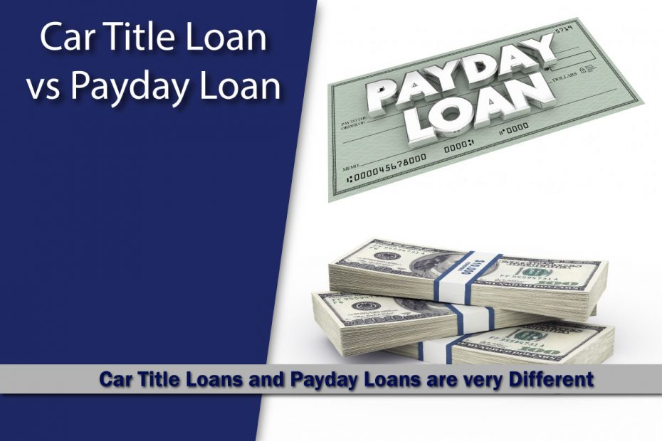 Car Title Loans vs Payday Loans