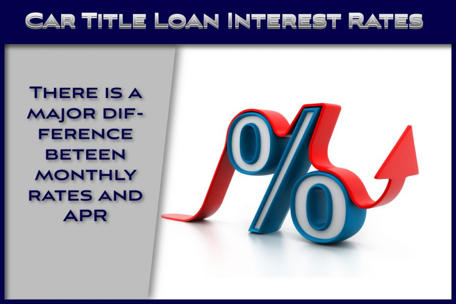 Car Title Loan Interest Rates